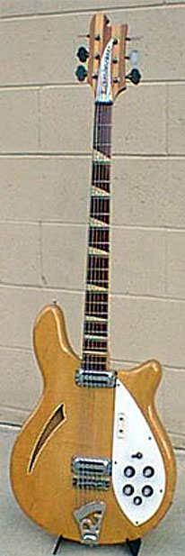 Circa 1967 Model 4005/6 in Mapleglo Courtesy of Mr. Gary Hernandez San Diego Guitars