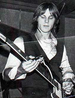Scott McCarl of the Raspberies in 1977